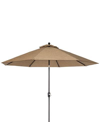 Beachmont II Outdoor 11' Umbrella, Created for Macy's