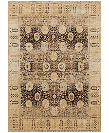 Andreas AF-09 Blue/Light Gold Area Rugs