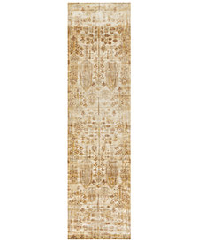"Macy's Fine Rug Gallery Andreas   AF-11 Antique Ivory 2'7"" x 12' Runner Rug"