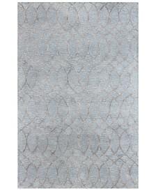Bashian Gramercy Clarke Light Blue 8 6 X 11 Area Rug