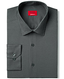Alfani Slim Fit + Stretch Dot Print Dress Shirt, Created for Macy's