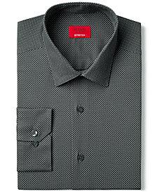 Alfani Slim Fit + Stretch Dot Print Dress Shirt, Created for Macy's