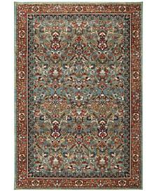 Spice Market Tigris Aquamarine 8' x 11' Area Rug