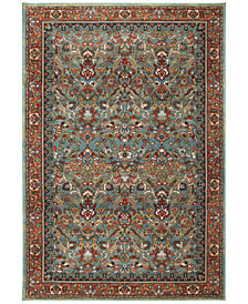 Karastan Spice Market Tigris Aquamarine Area Rug Collection