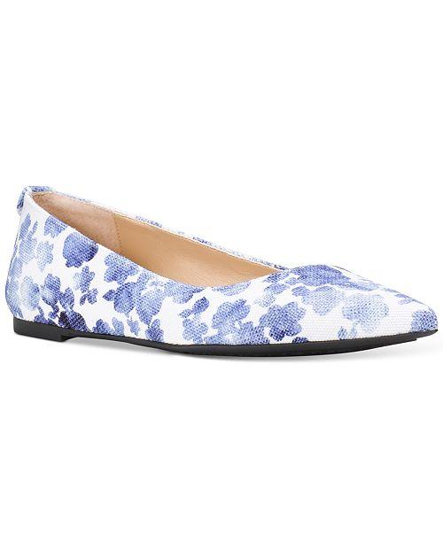 eac3fdb3d4b Michael Kors Arianna Floral Print Flats   Reviews - Flats - Shoes ...