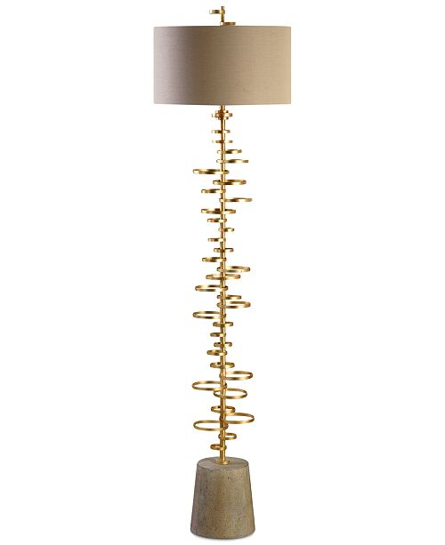 1a5f12005c6 Uttermost Lostine Floor Lamp   Reviews - All Lighting   Lamps - Home ...