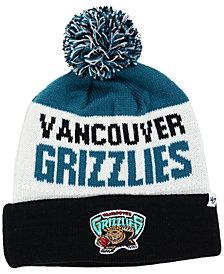 '47 Brand Vancouver Grizzlies Crossblock Knit Hat
