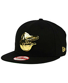 New Era Baltimore Orioles League O'Gold 9FIFTY Snapback Cap