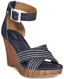 Style & Co Raynaa Platform Wedge Sandals, Created for Macy's