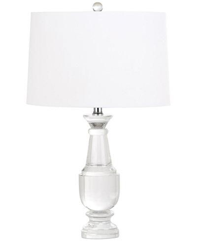 Decorators lighting trophy balustrade crystal table lamp