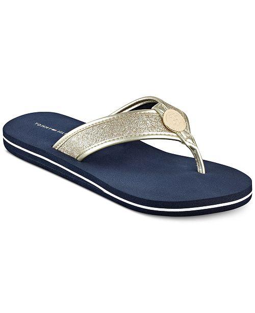 23daa9228c1a Tommy Hilfiger Women s Clove Flip-Flop Thong Sandals   Reviews ...