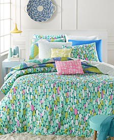 Whim By Martha Collection Impressions 5 Pc Duvet Sets Created For Macy S