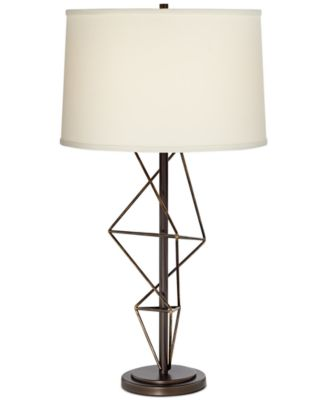 Pacific Coast Geometric Metal Table Lamp