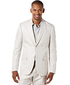 Perry Ellis Men's Linen Suit Jacket