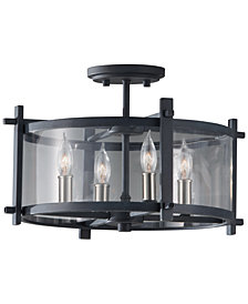 Feiss Ethan 4-Light Semi-Flush Mount