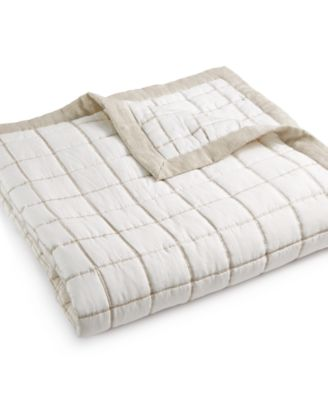Waffle Weave Full/Queen Coverlet, Created for Macy's