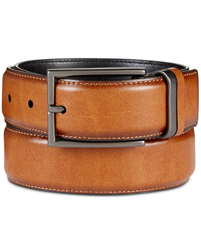 Alfani Men's Feather-Edge Belt, Created for Macy's