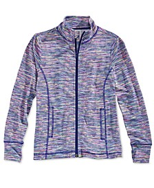 Active Zip-Up Jacket, Big Girls, Created for Macy's