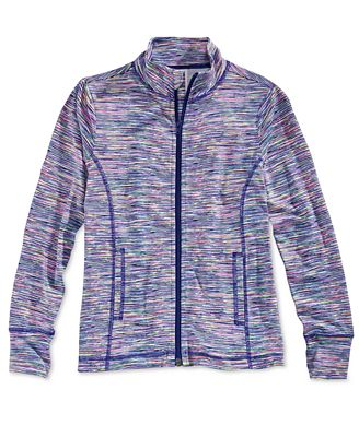 Ideology Active Zip-Up Jacket, Big Girls (7-16), Created for ...