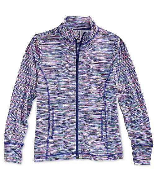Ideology Active Zip-Up Jacket, Big Girls, Created for Macy's