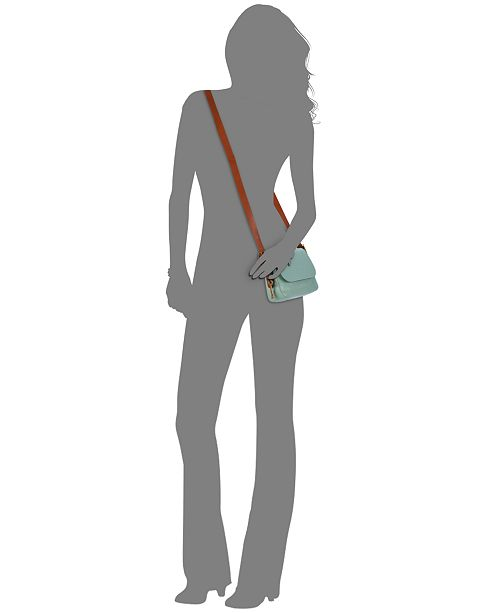 8a003ce65b2c Fossil Harper Leather Small Saddle Crossbody   Reviews - Handbags ...