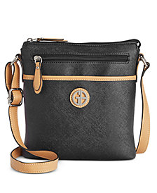 Giani Bernini Saffiano Crossbody, Created for Macy's