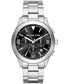 Michael Kors Men's Chronograph Gareth Stainless Steel Bracelet Watch 43mm MK8469