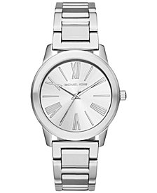 Michael Kors Women's Hartman Stainless Steel Bracelet Watch 38mm MK3489