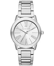 Michael Kors Women's Hartman Stainless Steel Bracelet Watch 38mm MK3489