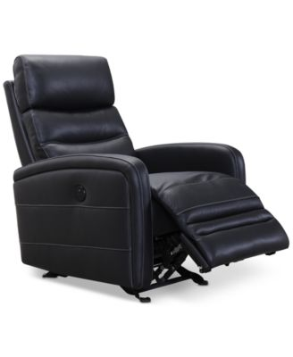 Jensen Leather Power Recliner with USB Power Outlet  sc 1 st  Macyu0027s & Jensen Leather Power Recliner with USB Power Outlet - Furniture ... islam-shia.org