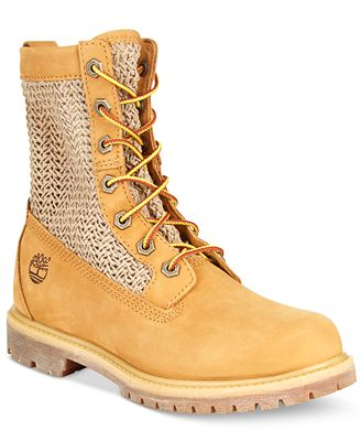 timberland s open weave 6 quot boots boots shoes