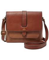 Fossil Kinley Small Pebble Leather Crossbody. Quickview. 2 colors