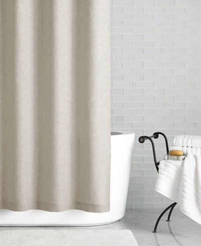 Hotel Collection Linen 72 X 84 Extra Long Shower Curtain Only At Macy 39 S Shower Curtains