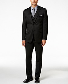 CLOSEOUT! Men's Stretch Performance Solid Slim-Fit Suit Separates, Created for Macy's