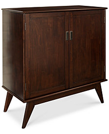 Kentler Mid Century Medium Storage Cabinet, Quick Ship