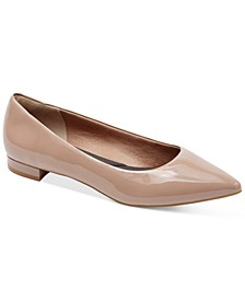 Women's Total Motion Adelyn Pointed-Toe Ballet Flats