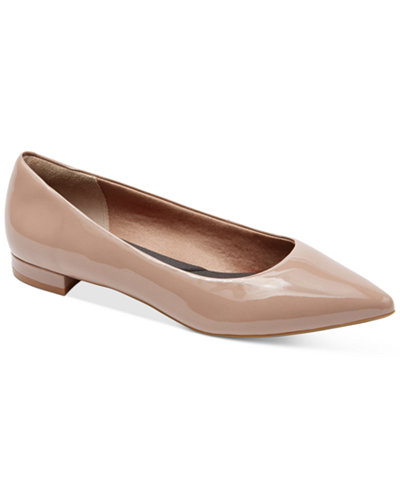 Macys Womens Shoes Beige Pumps