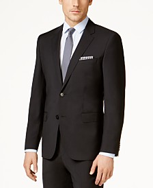 HUGO Men's Black Classic-Fit Jacket