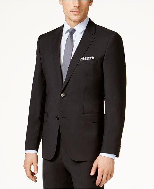 HUGO Men's Black Slim-Fit Jacket