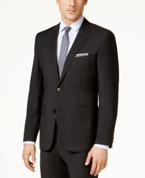 Hugo Men's Modern-Fit Black Suit Jacket