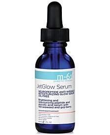 m-61 by Bluemercury JetGlow Serum Neuropeptide Anti-Wrinkle Retexturizing Glow Serum, 1 oz