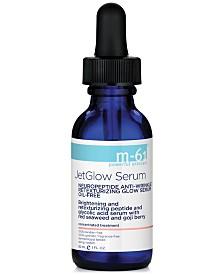 m-61 by Bluemercury JetGlow Serum Neuropeptide Anti-Wrinkle Retexturizing Glow Serum, 1 oz