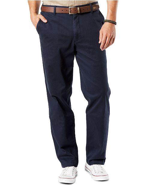 3ff7cf777cad Dockers Men s Classic Fit Washed Khaki Stretch Pants D3   Reviews ...