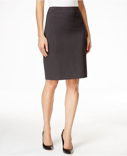 13aaed4f02 Calvin Klein Fit Solutions Pencil Skirt & Reviews - Skirts - Women ...