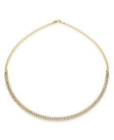 """INC 16"""" Crystal Collar Necklace, Created for Macy's"""