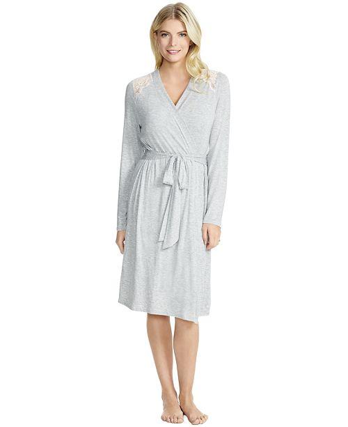 Jessica Simpson Lace-Trim Maternity Robe