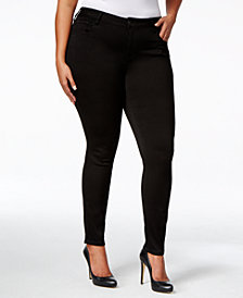 Celebrity Pink Trendy Plus & Petite Plus Size Super-Soft Walker Skinny Jeans