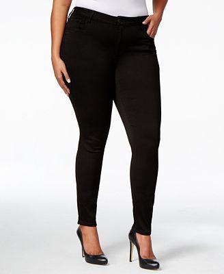 Celebrity Pink Trendy Plus Size Super-Soft Walker Skinny Jeans ...