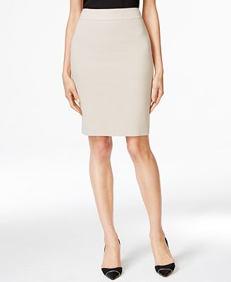 Calvin Klein Fit Solutions Pencil Skirt, Created for Macy's ...