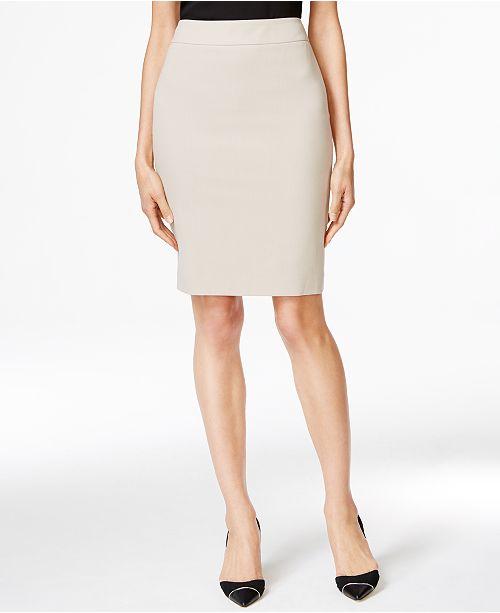 1bb6865b4245 Calvin Klein Fit Solutions Pencil Skirt & Reviews - Skirts - Women ...